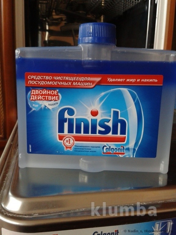 Средство для чистки посудомоечных машин от жира