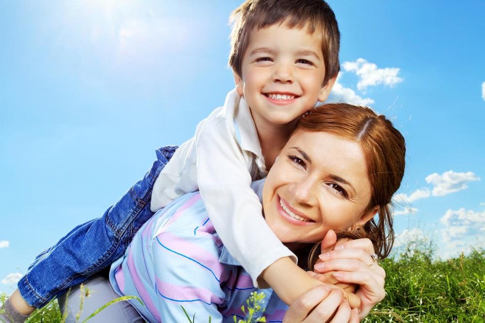 С сыном картинки
