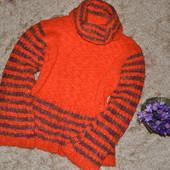 Женский зимний мохеровый свитер крупной вязки, размер S-M