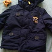 Куртка детская мальчик еврозима на 6-9 м