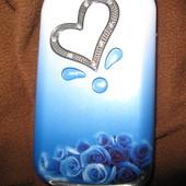 Красивый телефон-раскладушка для девочки