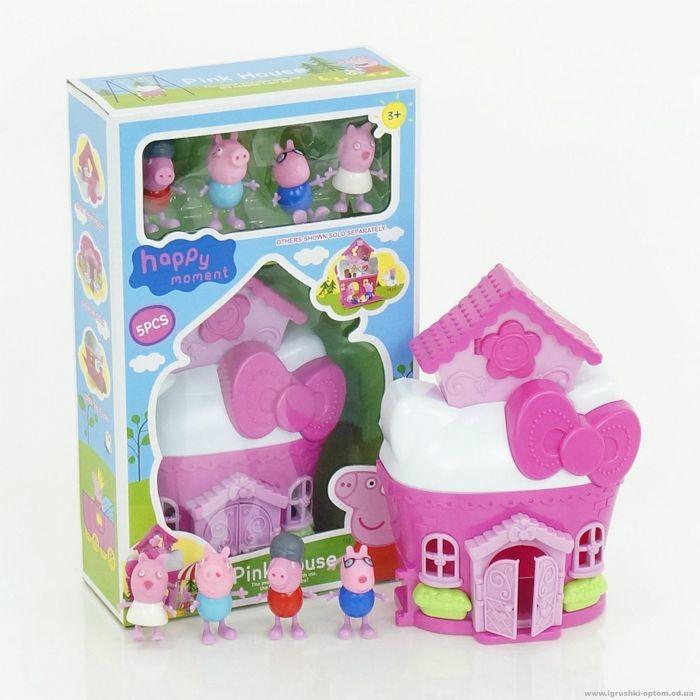Игры обстановка дома свинки пеппы