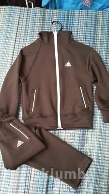 138c9ad2 Спортивный костюм Adidas эластик дайвинг, размеры 122-140, черный. - Фото №