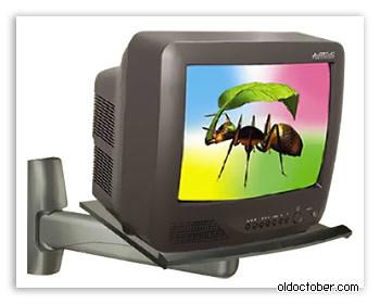 Полка для кинескопного телевизора своими руками