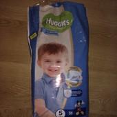 Подгузники Хаггис 5 открытая упаковка, осталось 23шт