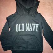 Толстовка (худи) Old Navy из США - размер на выбор от 104 до 122 - цвет ровный