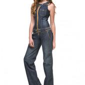 Новый Стильный джинсовый комбинезон темно-серого цвета. размер М-Л, мой пролет( УП+17 грн