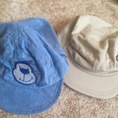 кепки на возраст 3-6 месяца 1 на выбор