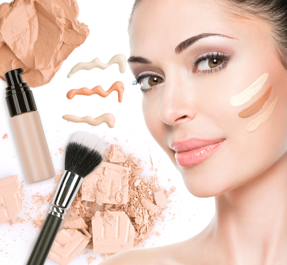 Картинки скульптурирования макияжа лица