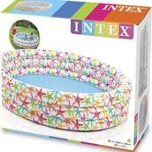 Бассейн Intex надувной интекс, 168x38 см. УП 25грн.