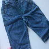 Фирменные джинсы George , 9-12 мес