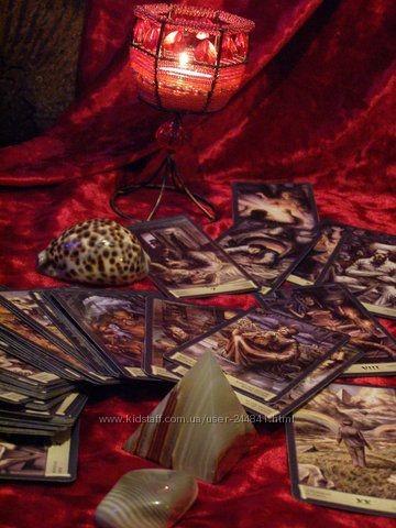 Гадание на картах таро зима