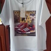 Хит продаж!Модная футболка 48 размера
