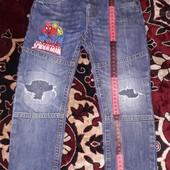 джинсы на мальчика 5-6 лет