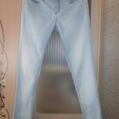 Джинсы-стретч skinny от bonprix , размер 42(М), низкий рост (k) до 165 см