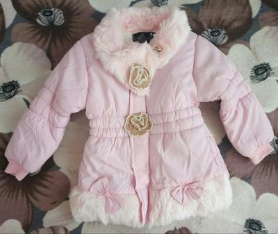 ee6b078a78c качество отличное! курточка-пальто на девочку 1