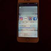 Iphone 6s gold на 16 гб б.у.