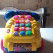 Интерактивная игрушка телефон Fisher Price.