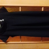 Плаье черное, размер 42-46