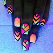 Яркий неоновый флуоресцентный пигмент для декора. Цвет на выбор.