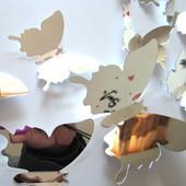Зеркальные бабочки.Твоя сказка в доме!.уп28грн
