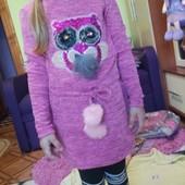 Бомбезные платье для девочек Seagull 6-12лет.Венгрия