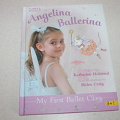 книга Angelina Ballerina my first ballet class