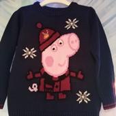 Стильный свитер с любимой героиней Свинкой Пеппа.
