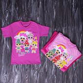 Спешите купить - Супер новинка с куклами Лол! Классные футболочки на лето, Замеры!