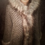 Шикарное пальто(Италия!)на пышные формы!