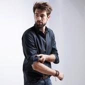 Стильная мужская рубашка тсм Tchibo германия , из высококачественного хлопка.- 100%, размер ххл
