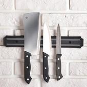 Магнитный держатель для ножей. Нужная штука на кухне!