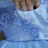 Платье праздничное, пышное. Для маленькой принцессы