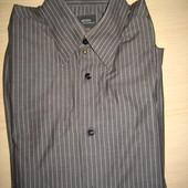 новая мужская рубашка  G-Star р.L 100% коттон пр-во Индия  (сток на дефекты проверено)