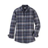 Мужская фланелевая рубашка р-р 41/42  L Tchibo