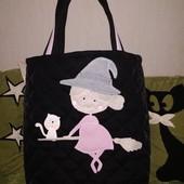 """Сумка для покупок handmade """"Ведьмочка"""" , вместительная и очень симпотная!!!"""