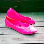 Балетки туфли низкий ход без каблука 36-37 р-р 23,5 см от H&M