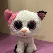 Мягкая игрушкаTy, 15 cм, Кошечка глазастик