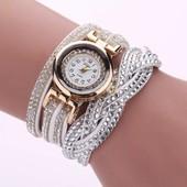 """*Красивые роскошные часы-браслет  """"Горный хрусталь"""""""