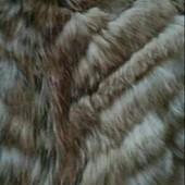 Отрез натурального меха + рукав(без потертостей).Мех степного волка. На пошив жилетки.