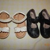 Лот туфли и босоножки 16см стелька