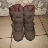 Зимние ботинки ТСМ в хорошем состоянии, стелька - 22,5см.