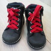 Турецкие кожанные ботинки
