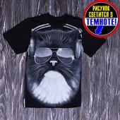 Хит продаж! Класнючие футболки! рисунок светится в темноте