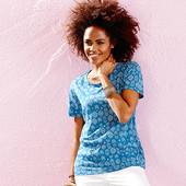 ☘ Мягкая и приятная футболка для стильного образа, Tchibo(Германия), размеры наши: 42-46(36/38 евро)