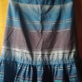 Качественная юбка в полоску, размерS