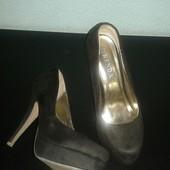 Шикарные туфли натуральная замша