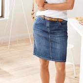Стильная и удобная джинсовая юбка ТСМ Чибо Германия,размер 46 евро, наш 52