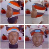 Детские демисезонные шапочки,шлемики на холодную весну-осень!Качество отличное!