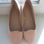Нежные и невесомые балеточки 38 размер